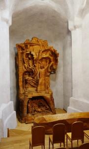 Holzskulptur «Menschheitsrepäsentant»