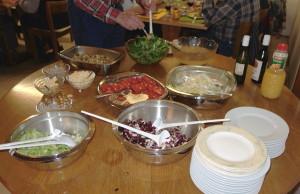 vom Salat über Suppe, Hauptgang