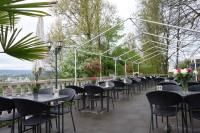 im Restaurant Höfli (nicht im Wasser)
