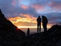 Morgendämmerung am Fusse des Monte Viso