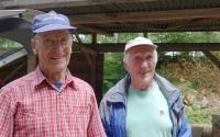 dort sind Peter und Othmar