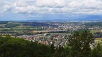 über Ettingen, Therwil nach Basel