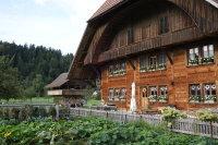Auch die historischen Häuser