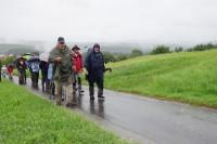begleitet uns der Regen